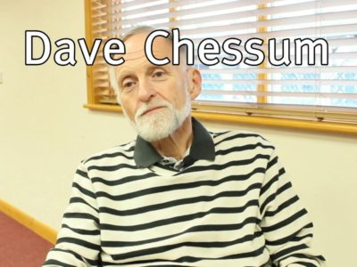 Dave Chessum, kidney cancer patient