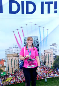 natalie Newnes Great North Run edit
