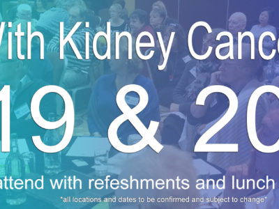living with kidney cancer days 2019 2020