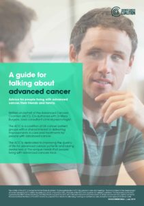 advanced cancer coalition booklet