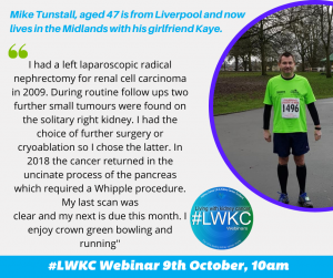 Mike Tunstall #LWKC Webinar: Treating Small Tumours